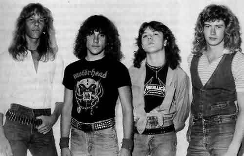 металика группа слушать скачать